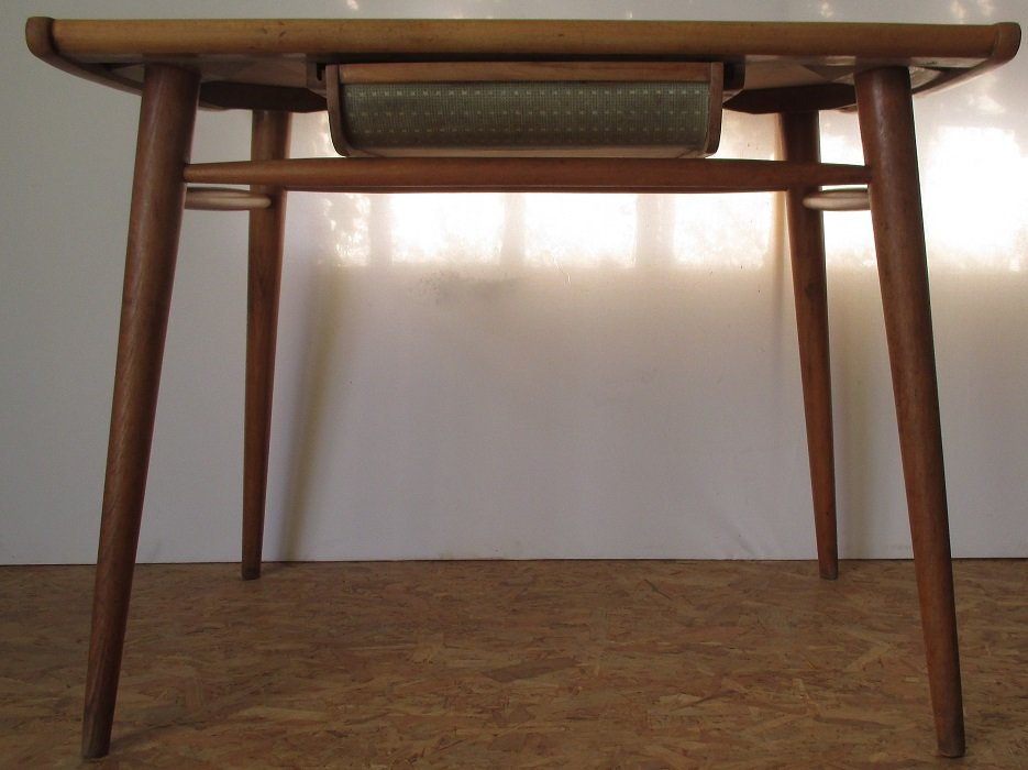 formica tisch mit 4 st hlen von lucian ercolani f r ercol 1960er. Black Bedroom Furniture Sets. Home Design Ideas