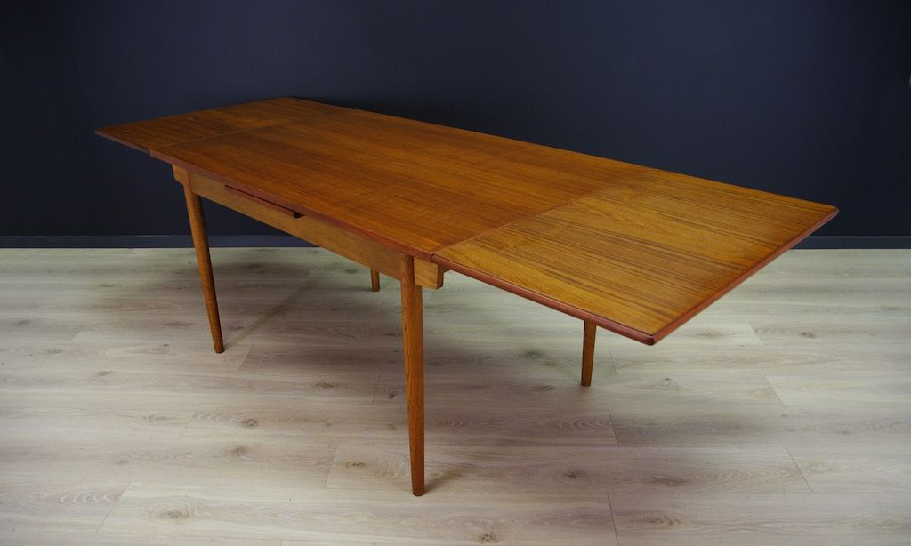 Extendable Teak Dining Table 1970s for sale at Pamono : extendable teak dining table 1970s 8 from www.pamono.com size 1024 x 614 jpeg 120kB