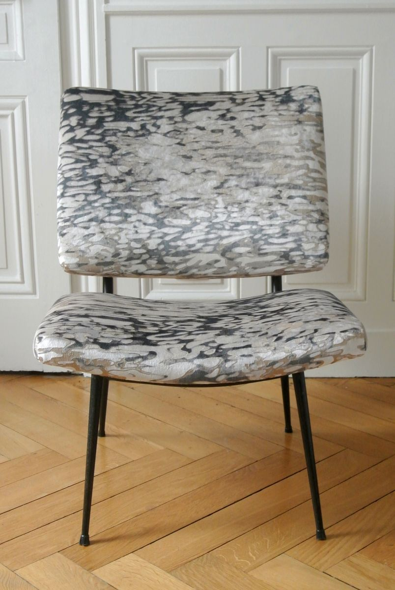 Upholstered side chair 1950s for sale at pamono for Side chairs for sale