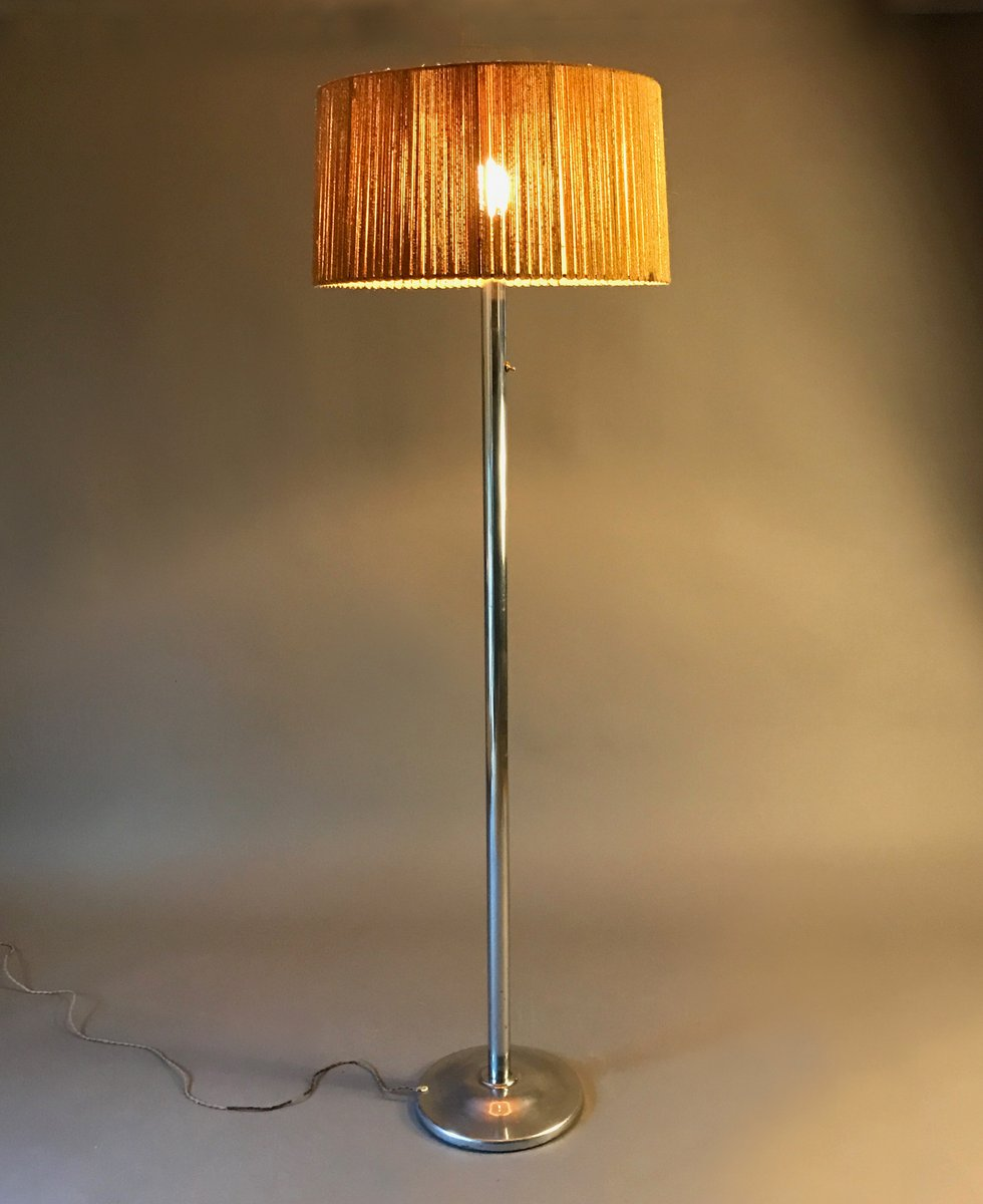French Modernist Floor Lamp by Robert Mallet-Stevens, 1930s for ...