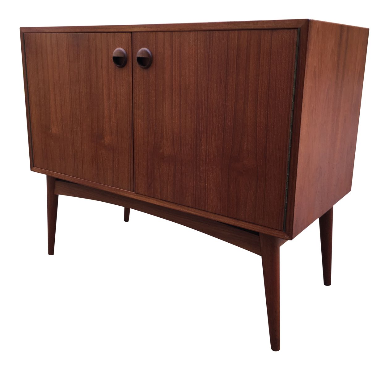 Vintage teak cabinet with drawers for sale at pamono for Kitchen drawers for sale