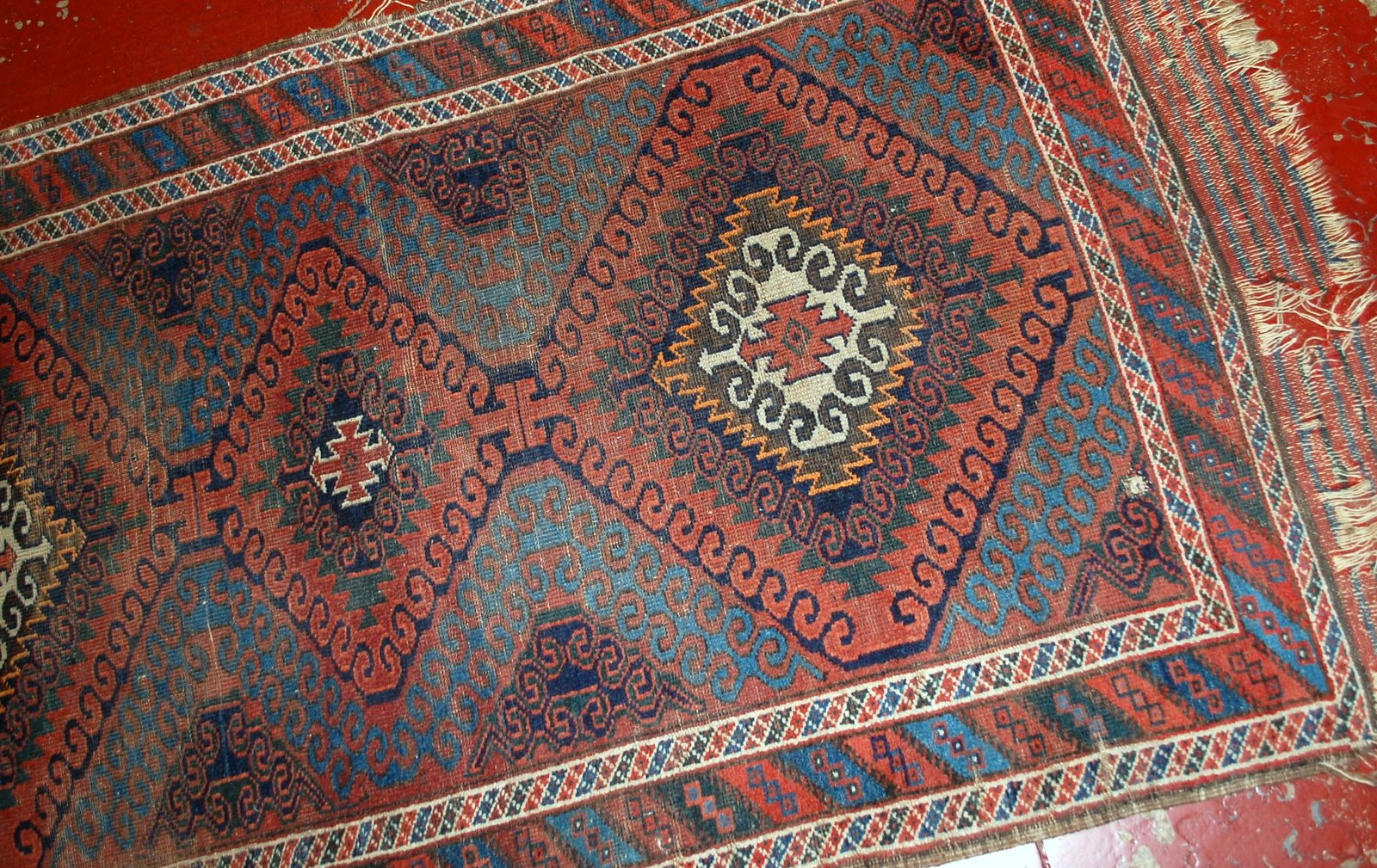 tapis baluch antique fait main afghanistan 1900s en vente sur pamono. Black Bedroom Furniture Sets. Home Design Ideas