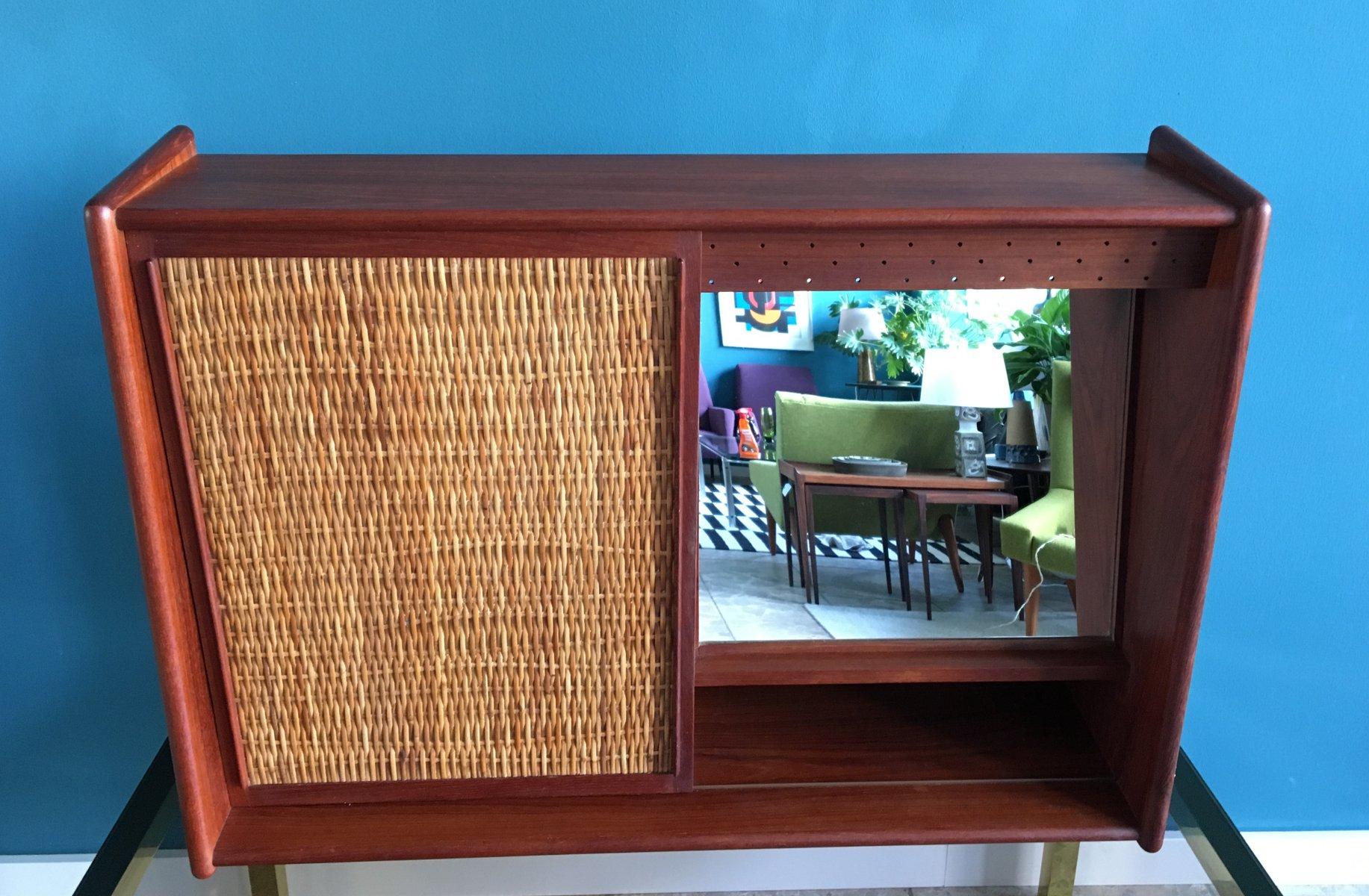 meuble de salle de bain vintage avec miroir 1960s en. Black Bedroom Furniture Sets. Home Design Ideas