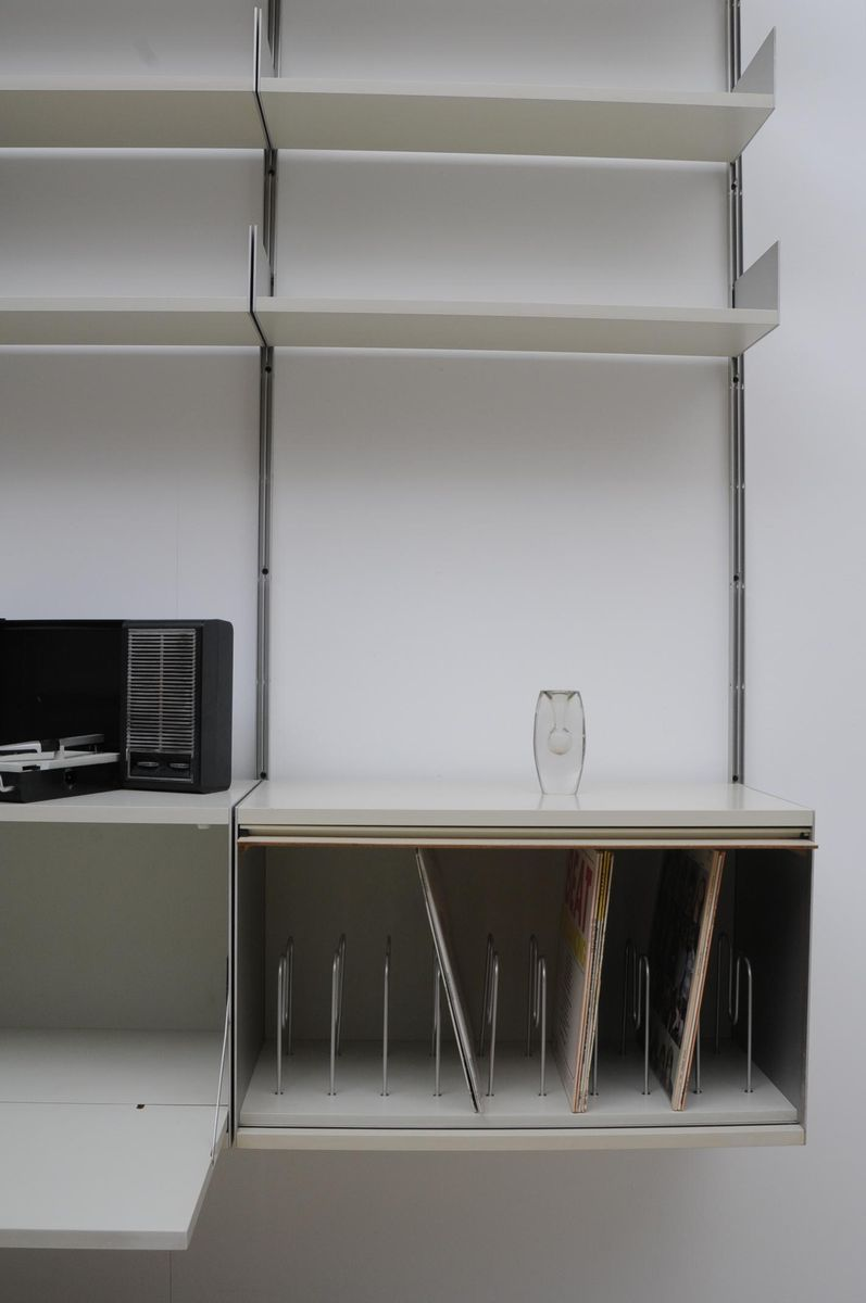 deutsches vintage modell 606 regalsystem von dieter rams. Black Bedroom Furniture Sets. Home Design Ideas
