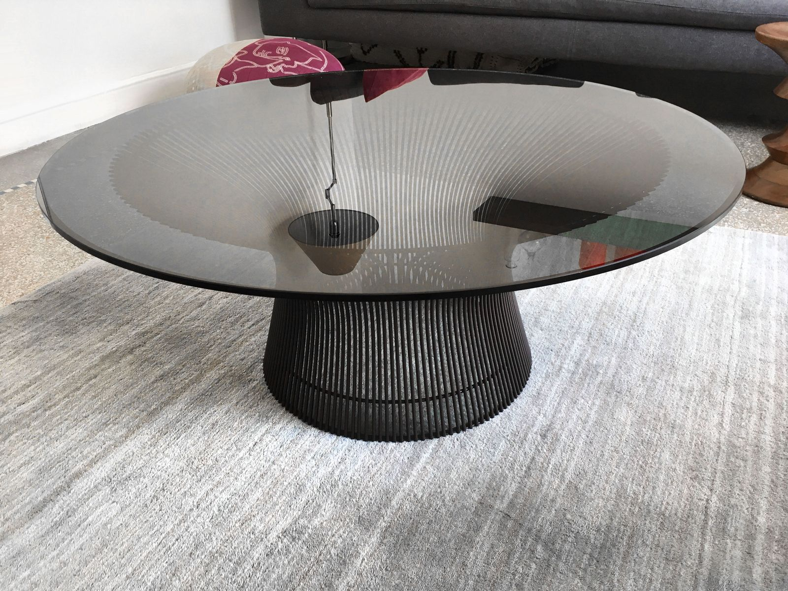 Vintage coffee table by warren platner for knoll for sale for Warren platner coffee table