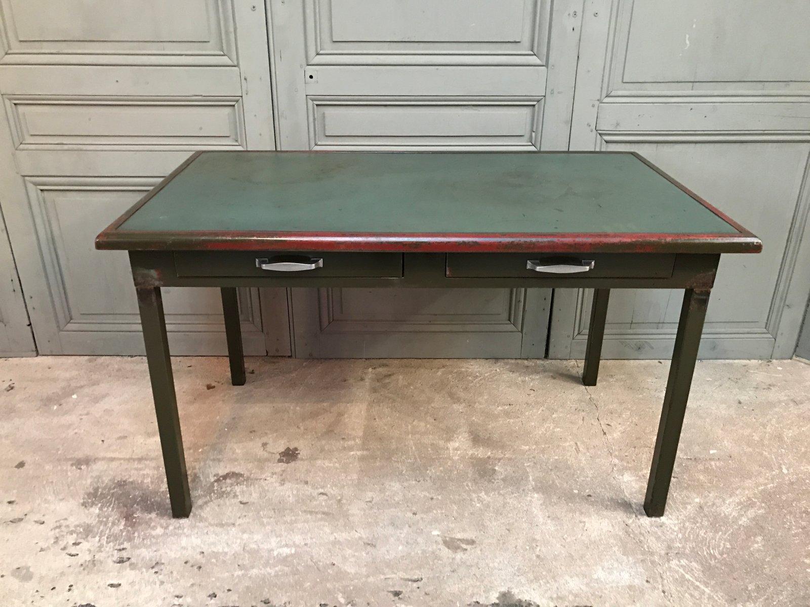 Vintage metall schreibtisch von atal bei pamono kaufen for Schreibtisch metall