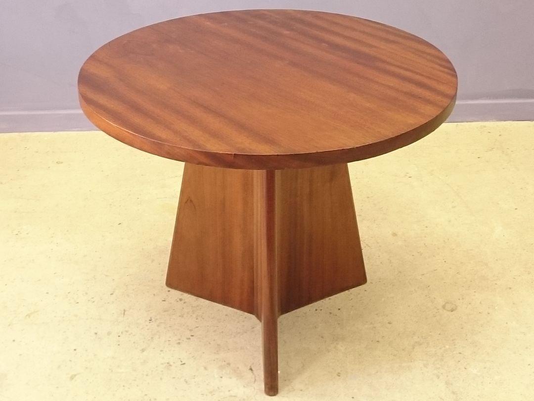 table basse art d co en acajou massif de stylnet 1930s en vente sur pamono. Black Bedroom Furniture Sets. Home Design Ideas