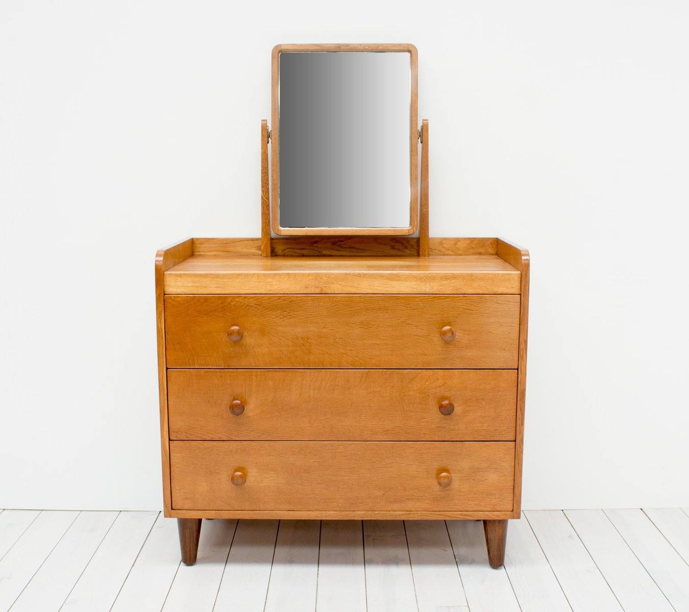 Modernist Oak Dressing Table By David Booth For Gordon Russell, 1949