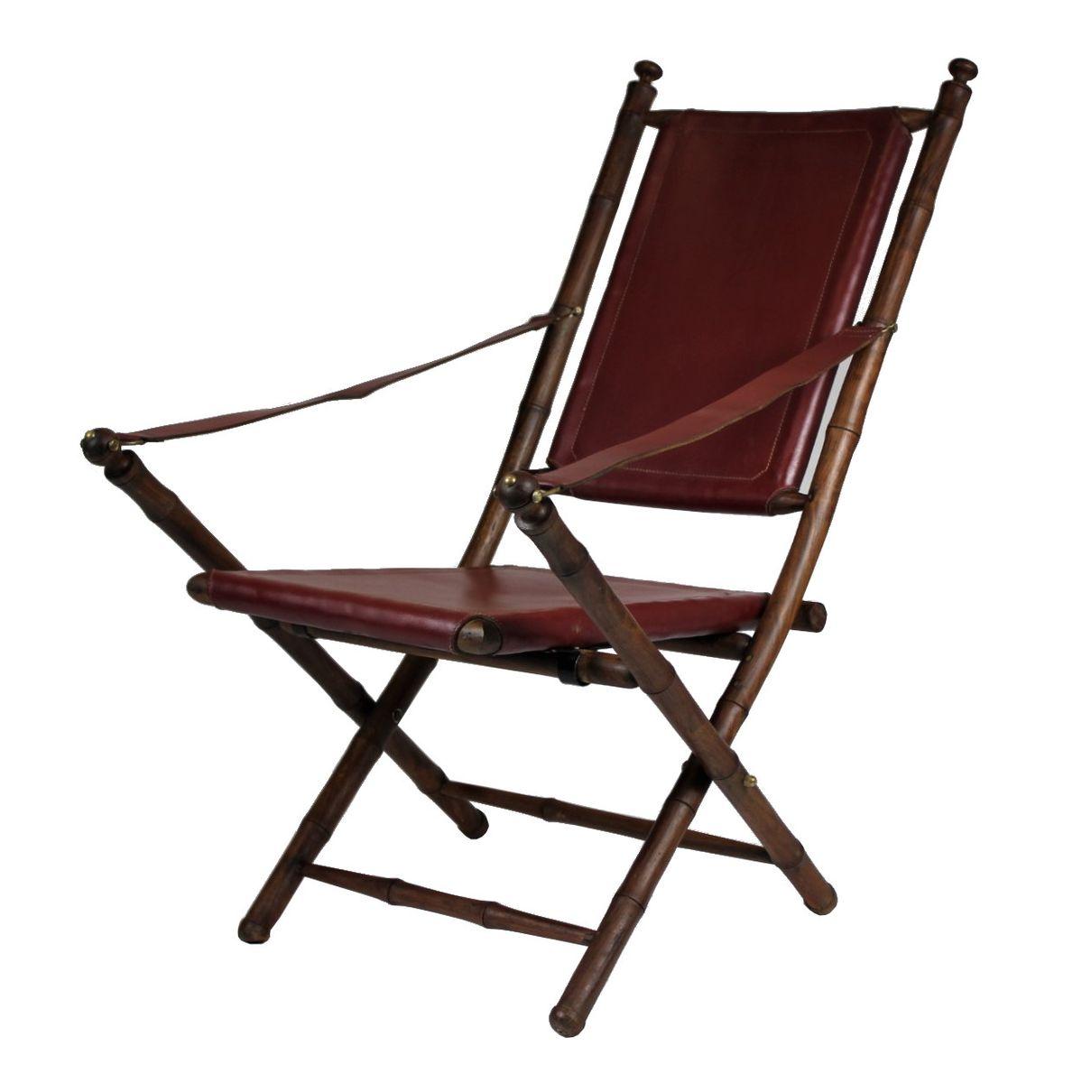 Chaise de campagne pliante 1950s en vente sur pamono - Chaise de campagne ...