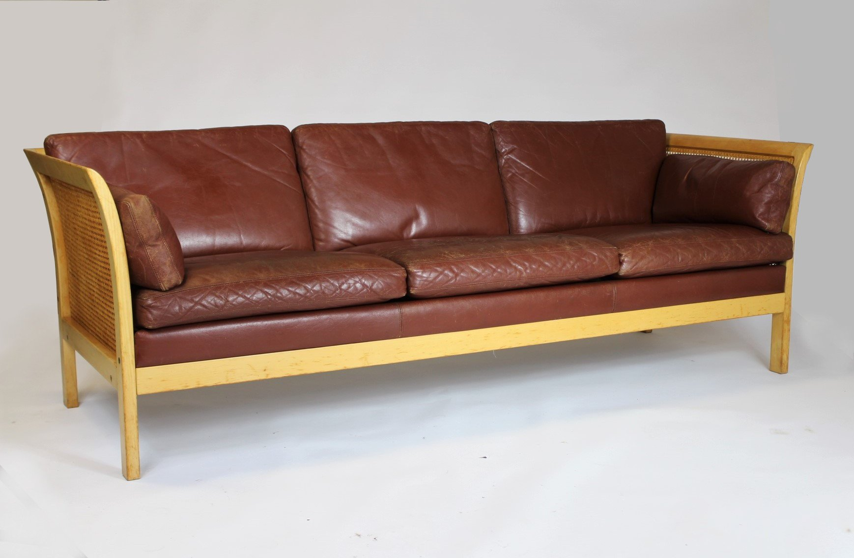 Swedish Leather Sofa By Arne Norell 1960s For Sale At Pamono