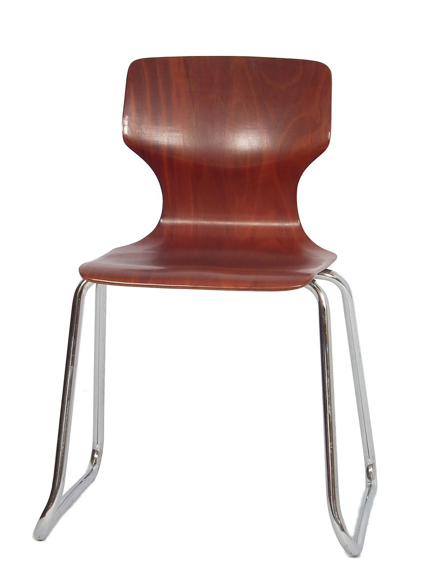Mid century dining chair from fl totto for sale at pamono for Z chair mid century