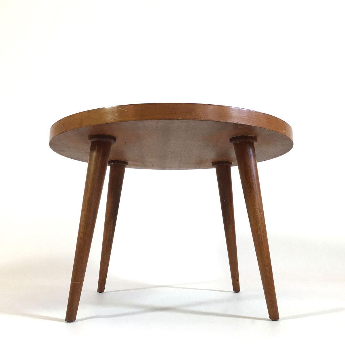 table basse mid century en ch ne en vente sur pamono. Black Bedroom Furniture Sets. Home Design Ideas