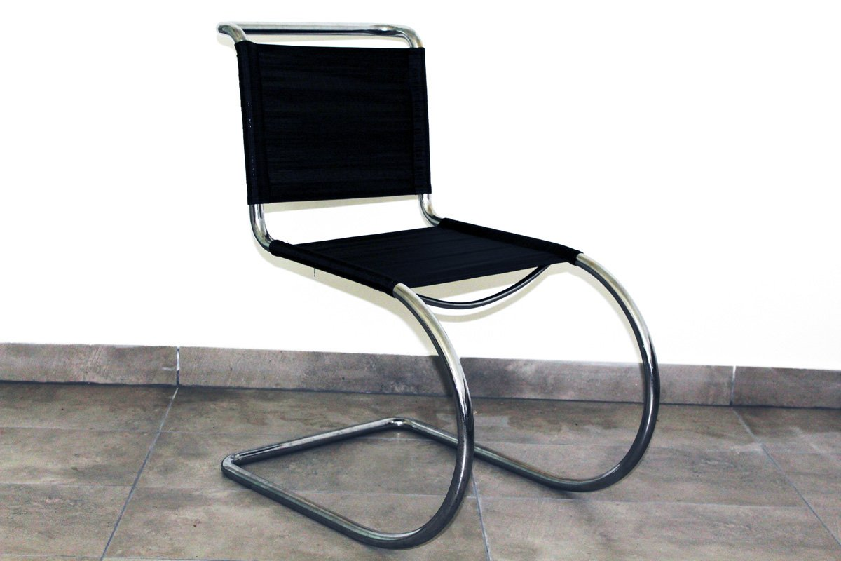 tubular steel chair by ludwig mies van der rohe 1930s for sale at pamono. Black Bedroom Furniture Sets. Home Design Ideas