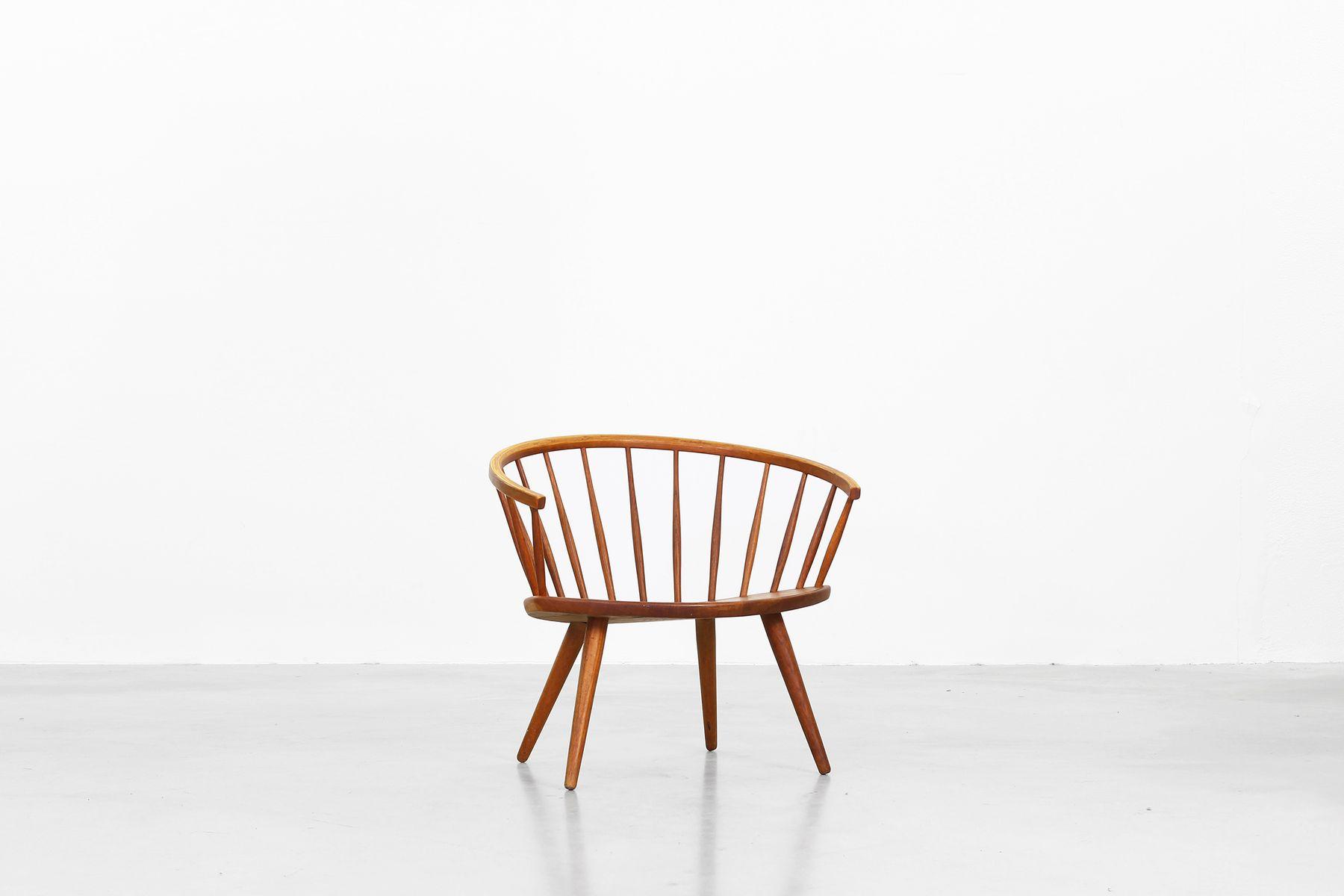 Mid Century Arka Armlehnstuhl von Yngve Ekstrom für Stolab bei Pamono kaufen