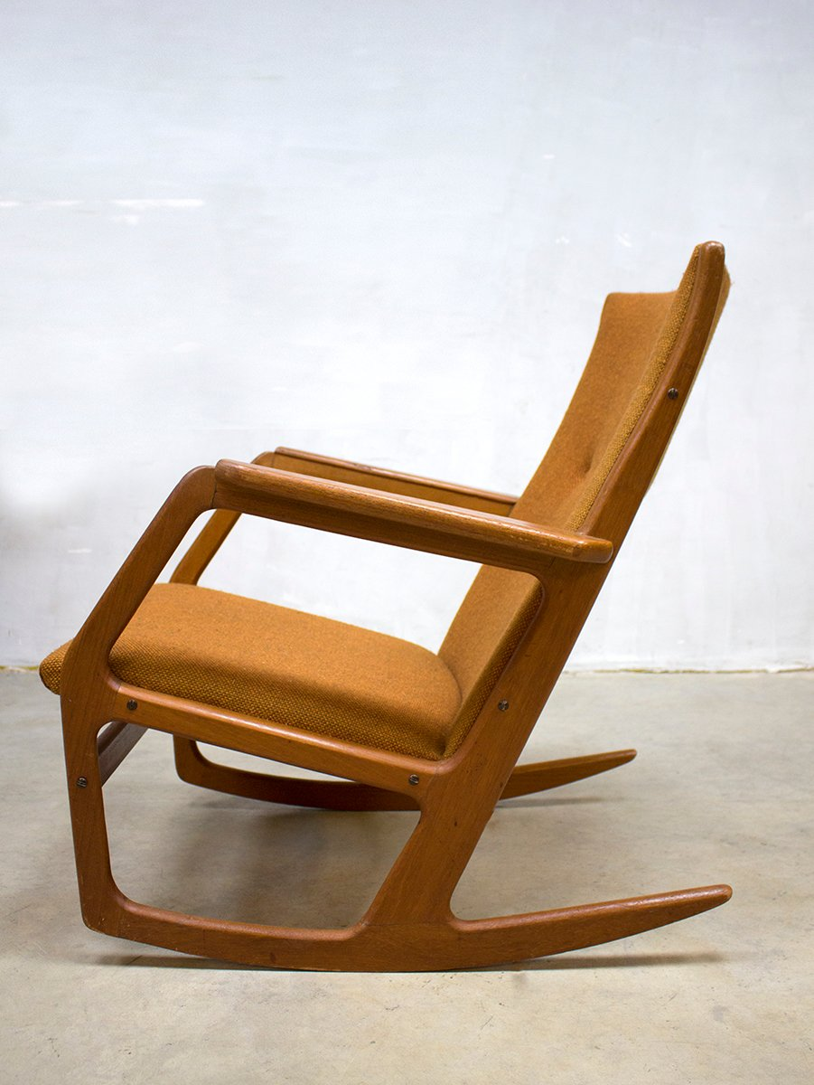 midcentury rocking chair by georg jensen for kubus
