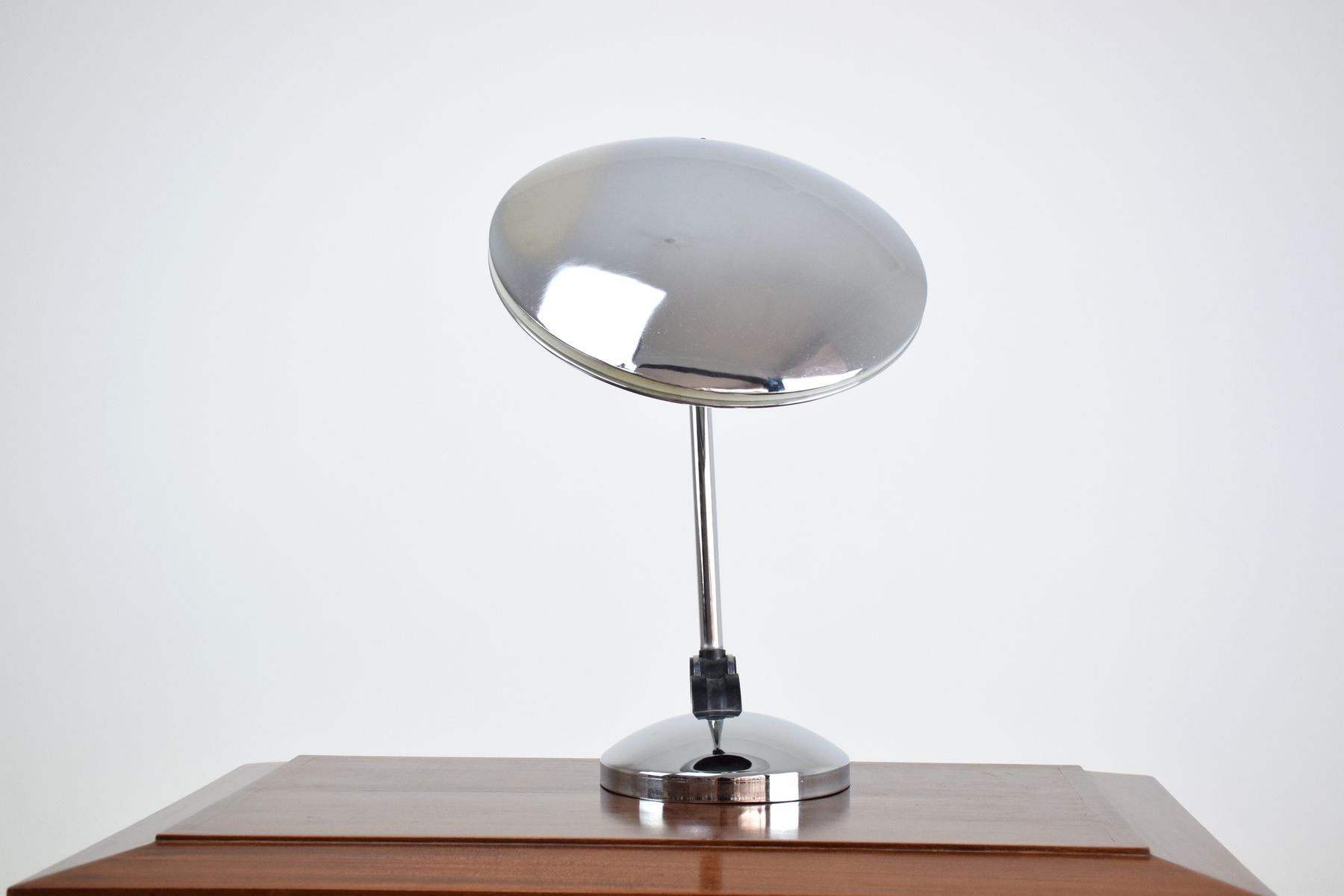 spanish chrome desk lamp from fase s for sale at pamono - spanish chrome desk lamp from fase s
