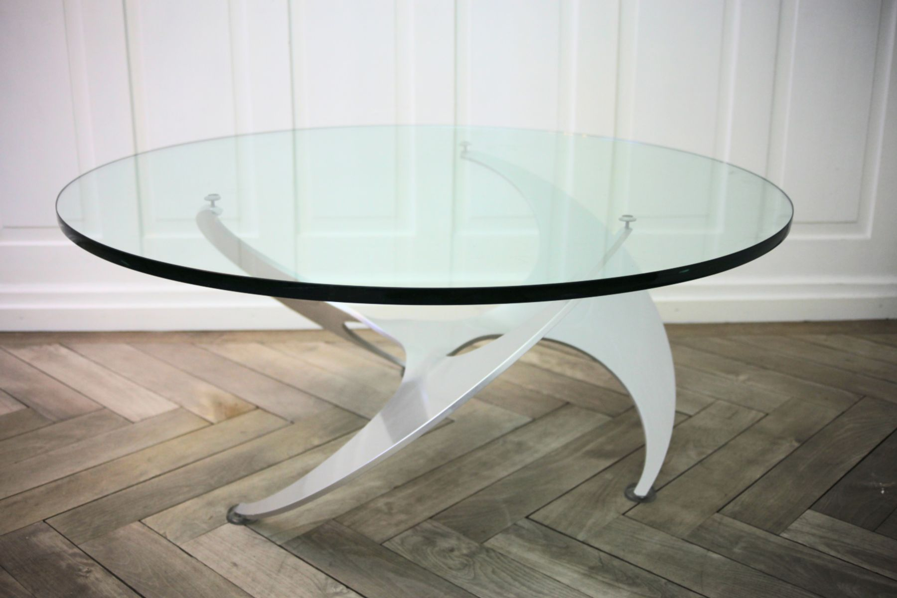 mid century propeller coffee table by knut hesterberg for ronald schmitt 1960s bei pamono kaufen. Black Bedroom Furniture Sets. Home Design Ideas