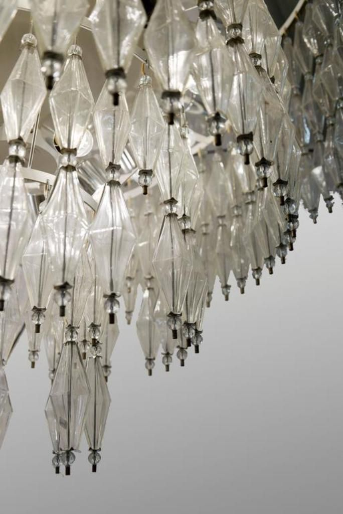 Large German Chandeliers 1950s Set Of 2 For Sale At Pamono