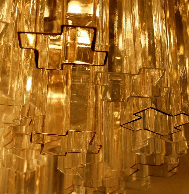 chandelier tronchi en verre murano 1970s en vente sur pamono. Black Bedroom Furniture Sets. Home Design Ideas