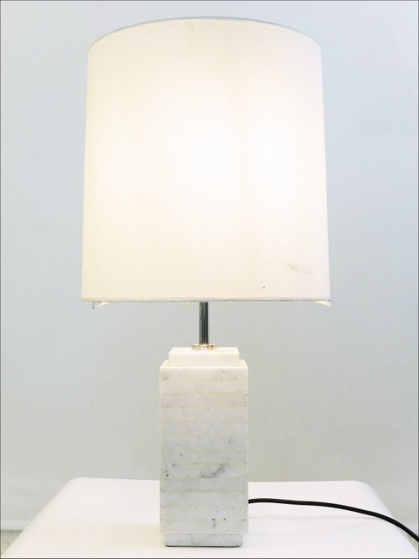Carrara Marble Table Lamp By Florence Knoll For Sale At Pamono