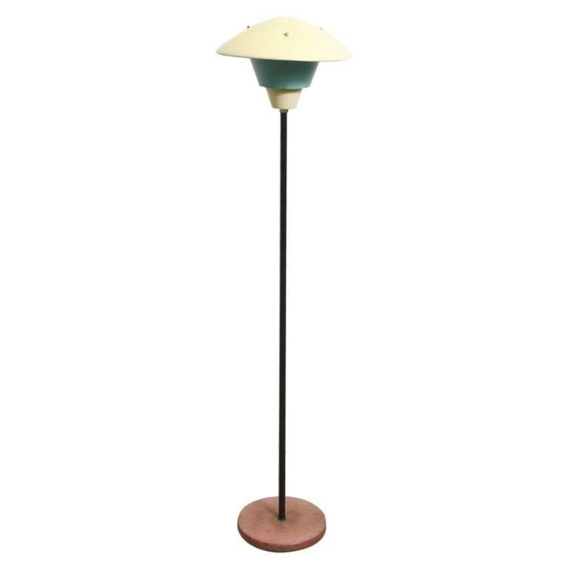 Outdoor floor lamp from philips 1950s for sale at pamono for 1950s floor lamps