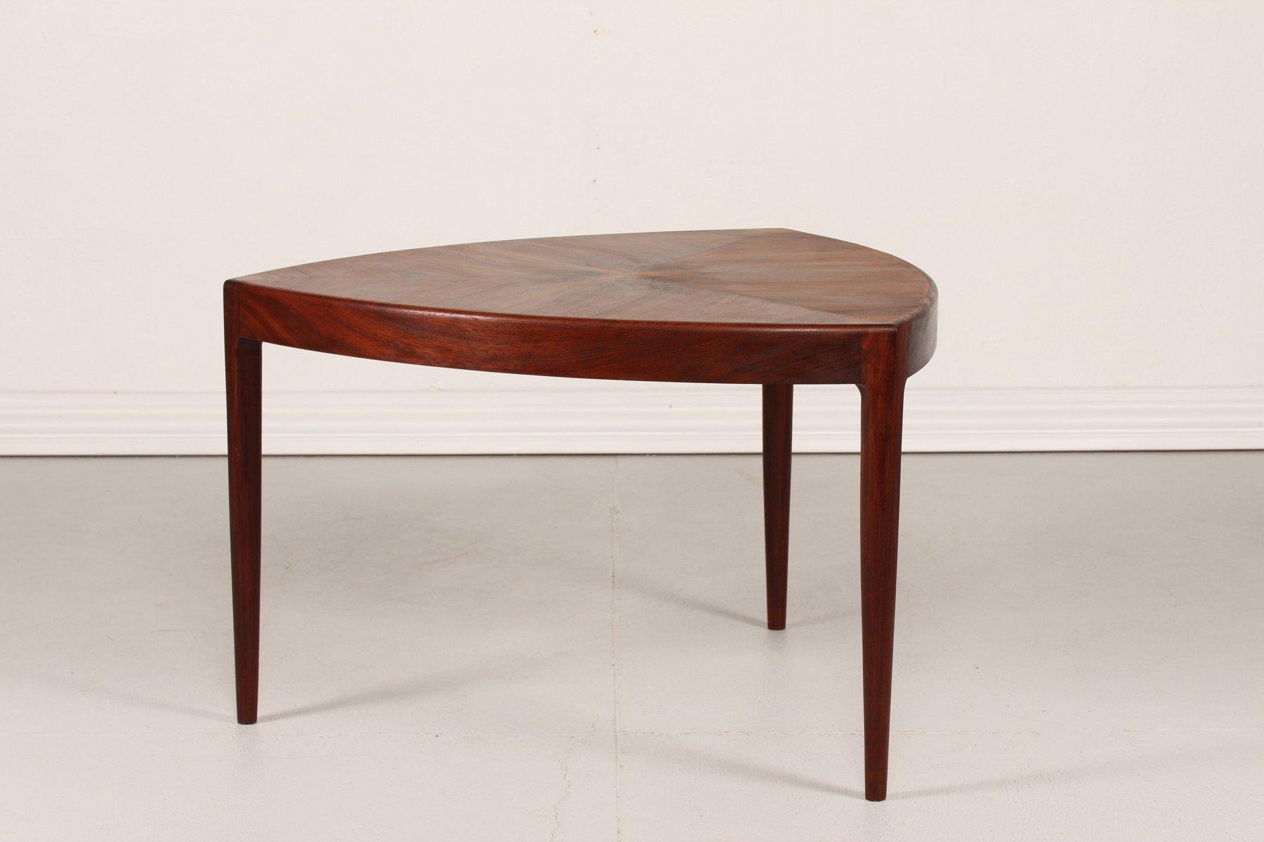 Vintage Danish Triangular Coffee Table, 1950s