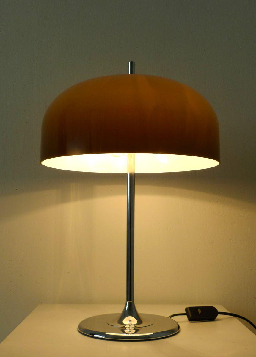 Lampe de bureau mid century avec pied tulipe allemagne - Lampe de bureau sur pied ...