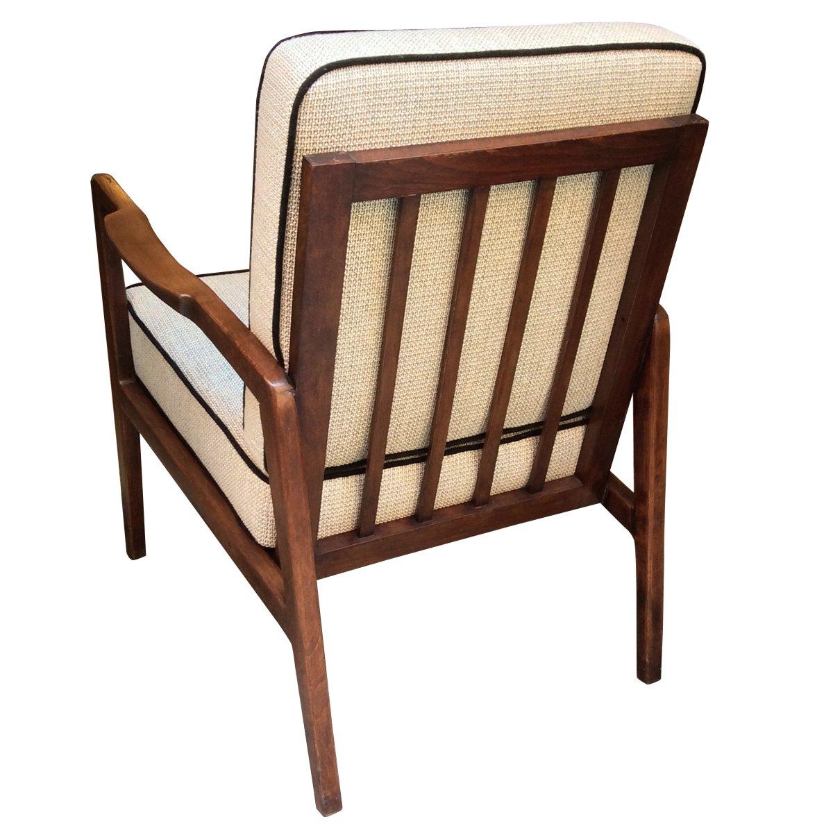 Mid Century Danish Walnut Armchair 1960s For Sale At Pamono