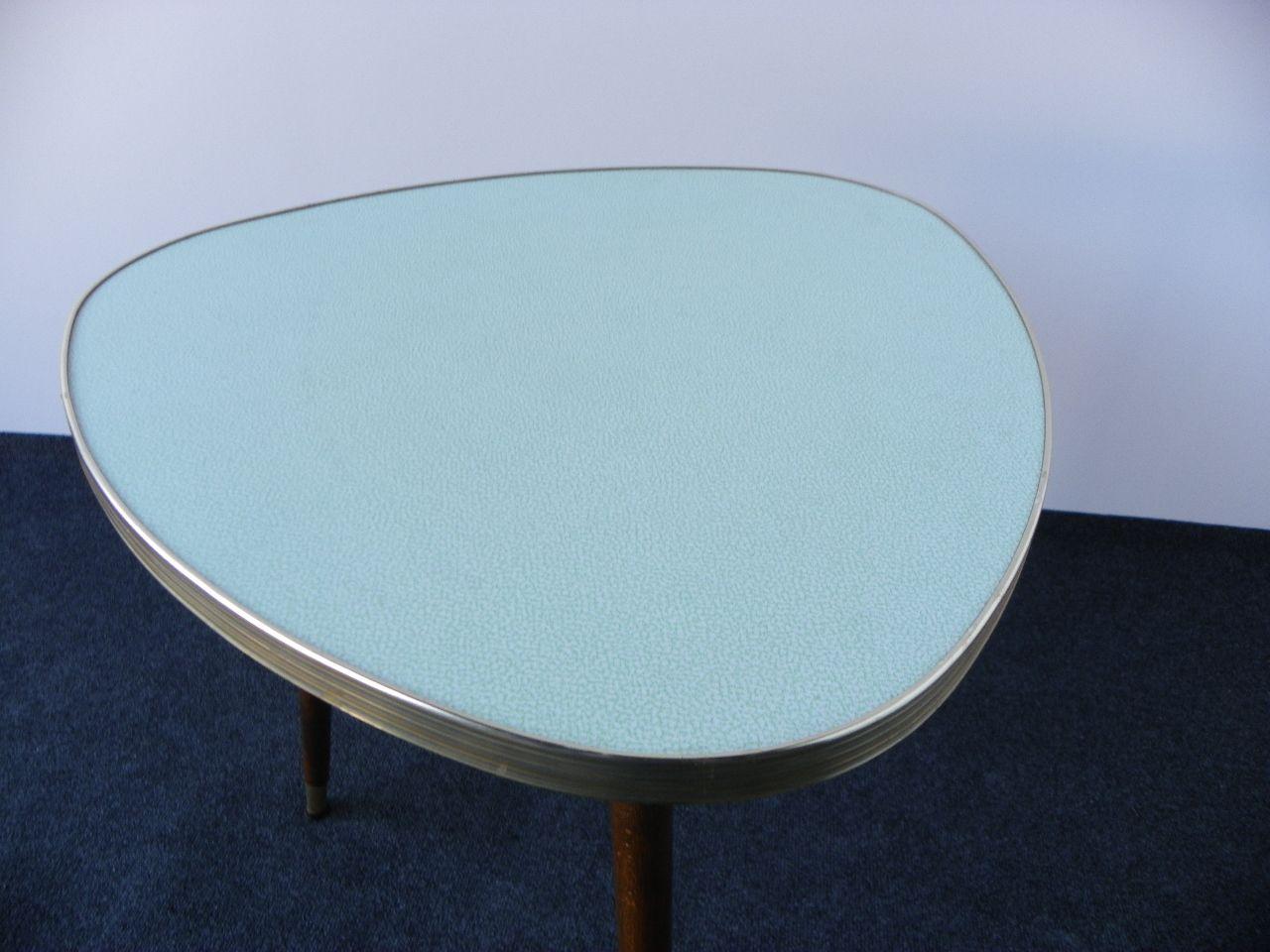 Midcentury Modern Triangular Coffee Table, 1960s