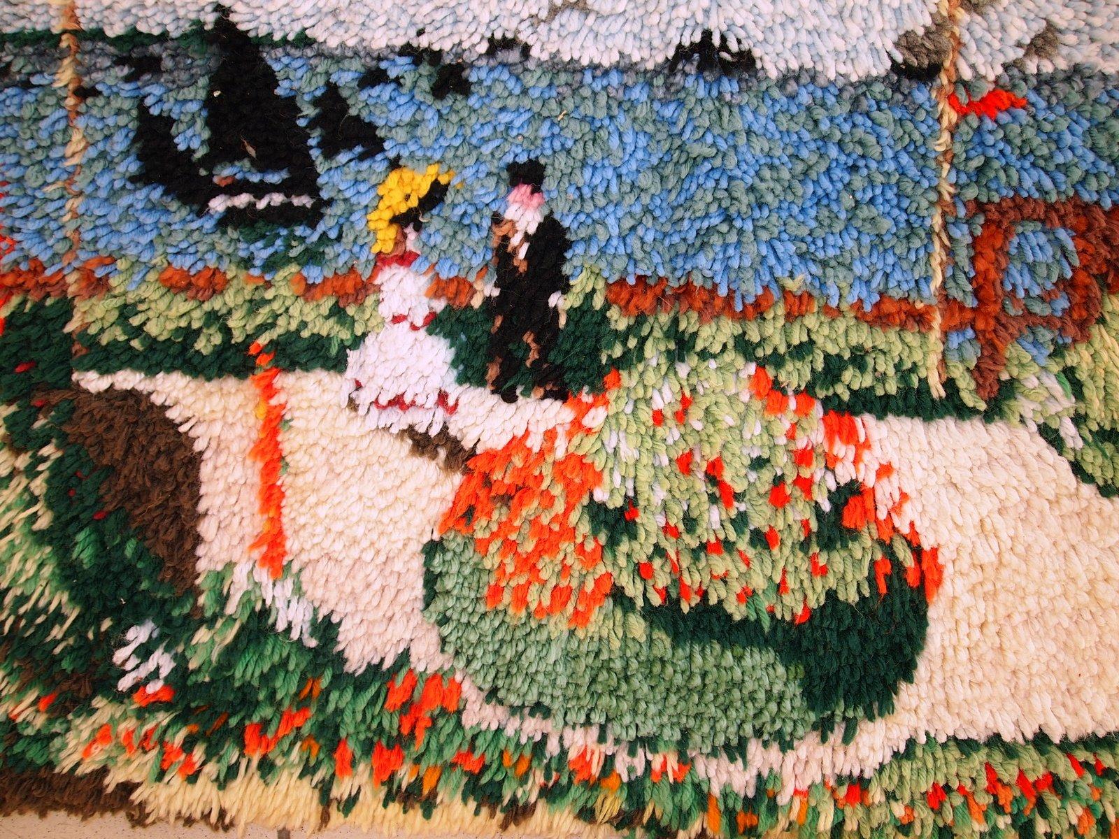 Terrasse Vintage : Vintage American Handmade Terrasse u00e0 Sainte Adresse Hooked