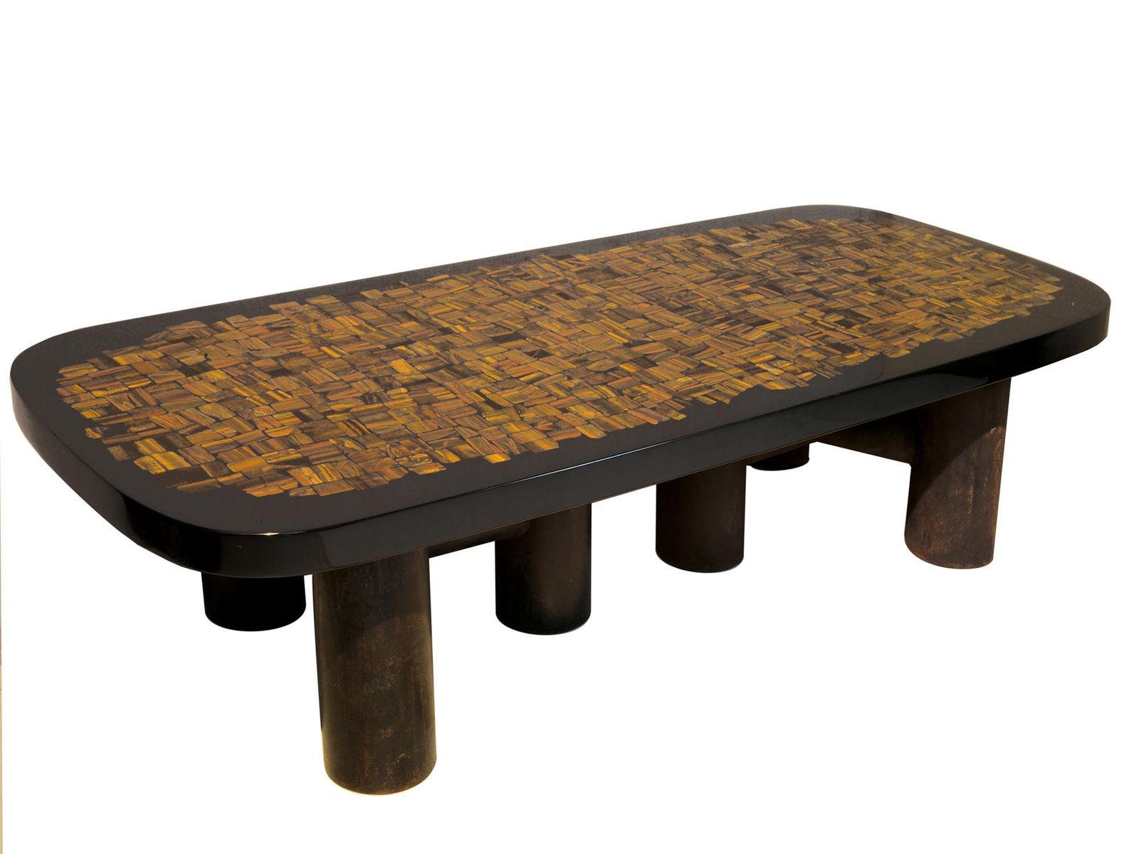 coffee table in tiger