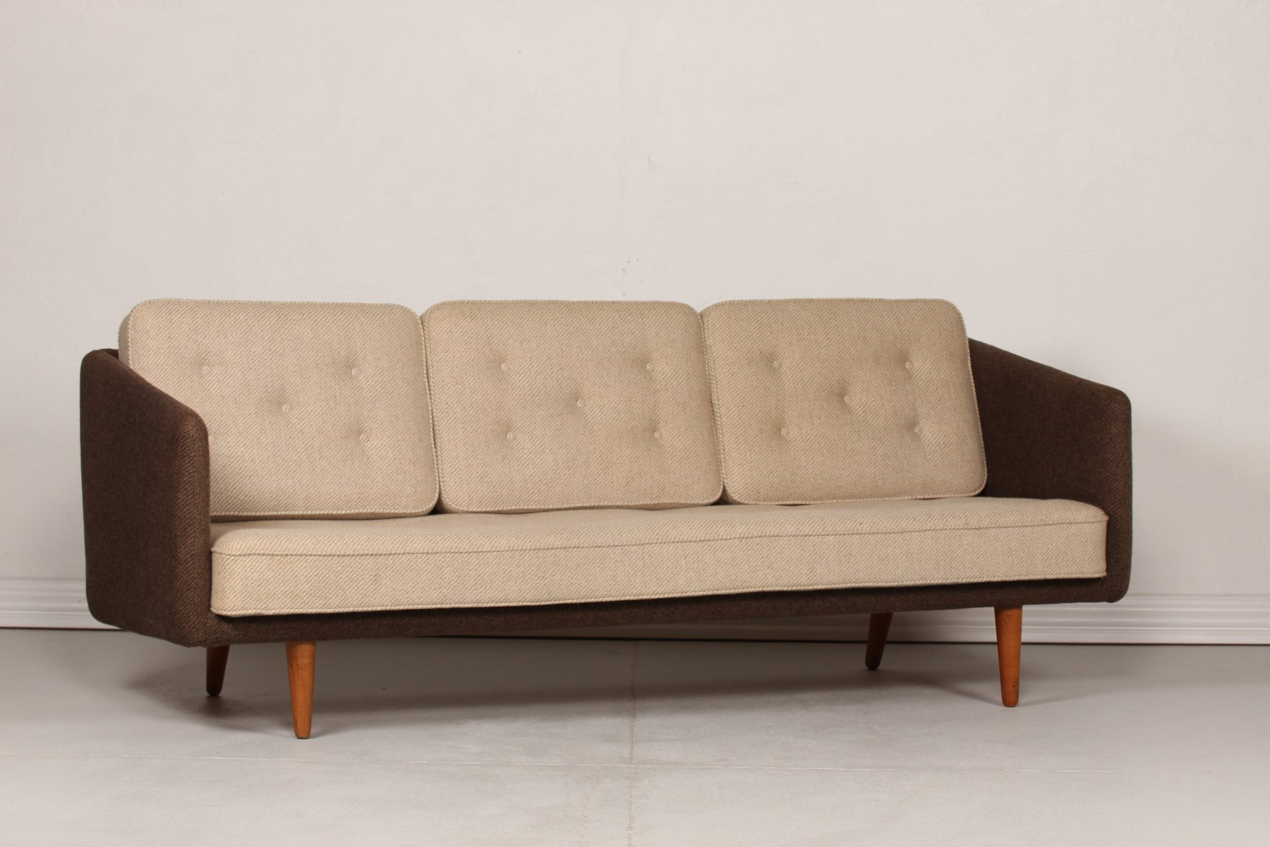 Model no 1 sofa by b rge mogensen for fredericia for 1960s furniture designers