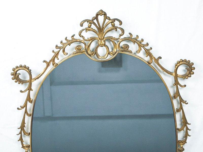 Miroir mural d coratif italie 1960s en vente sur pamono - Miroir decoratif mural ...