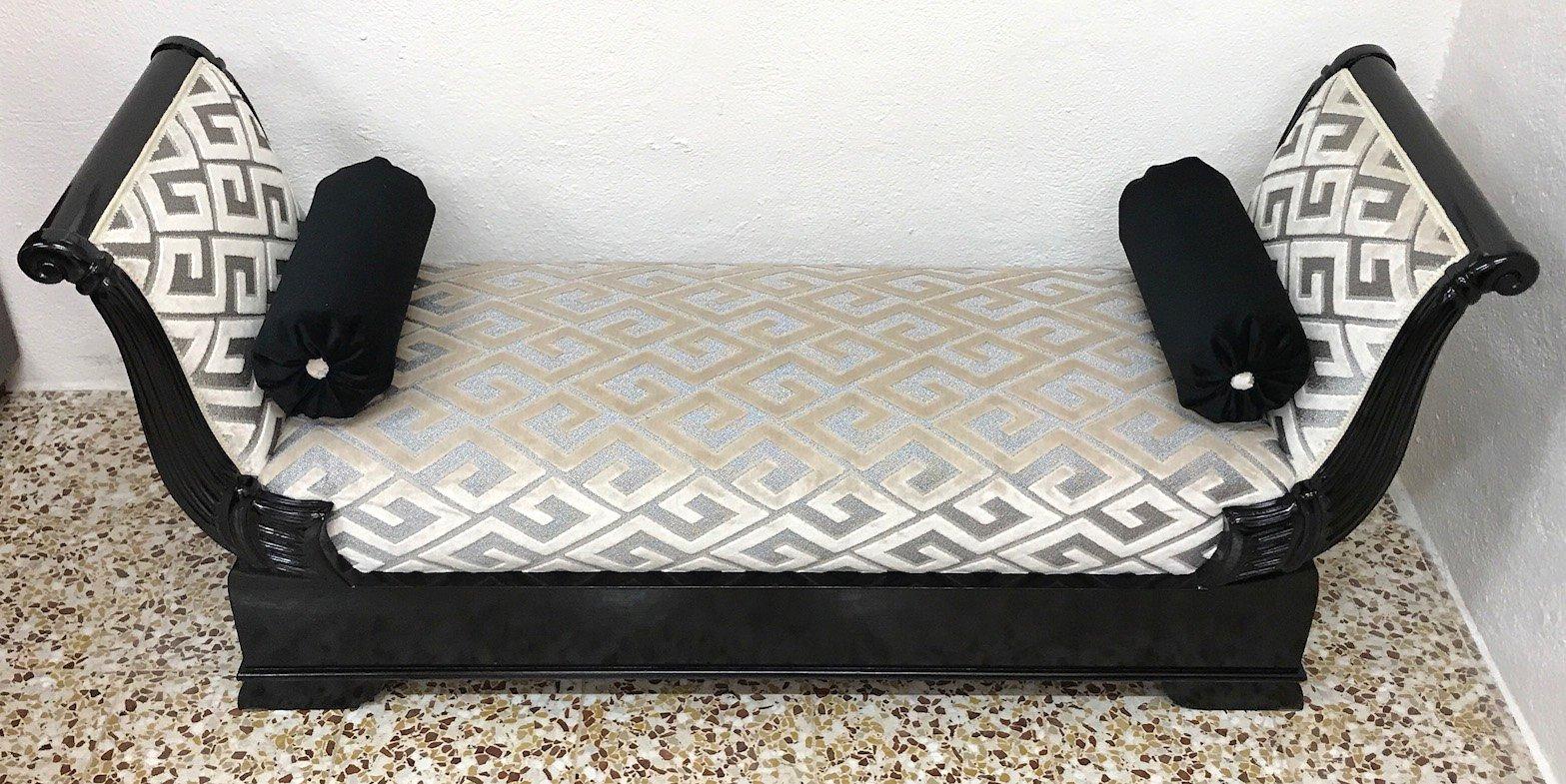 chaise longue italie 1950s en vente sur pamono. Black Bedroom Furniture Sets. Home Design Ideas
