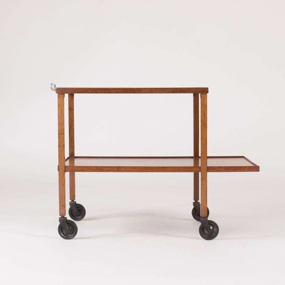 chariot bar en acajou par josef frank pour svenskt tenn 1950s en vente sur pamono. Black Bedroom Furniture Sets. Home Design Ideas