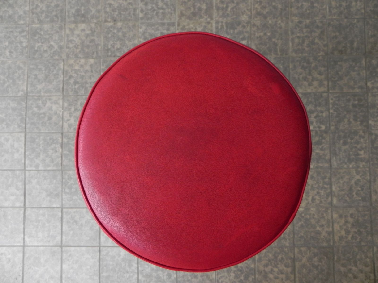 Belgischer barhocker in schwarz rot bei pamono kaufen for Barhocker rot