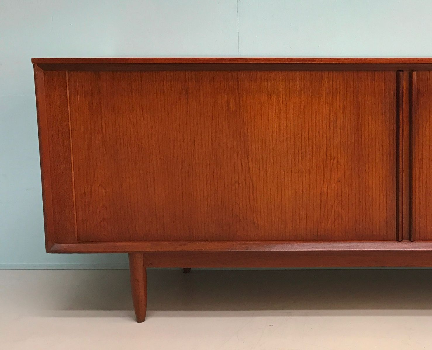 Price: $2323.00 Regular Price: $2570.00 & Danish Vintage Sideboard with Tambour Doors for sale at Pamono Pezcame.Com