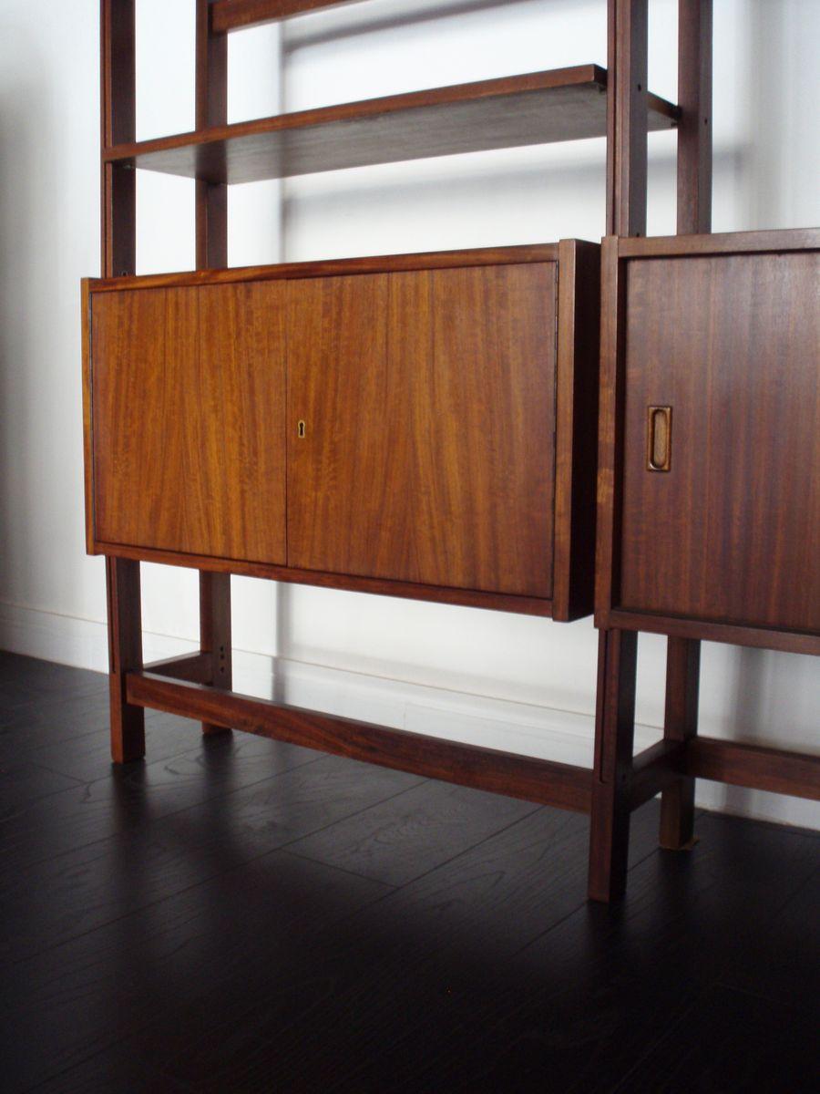 biblioth que modulaire par jose espinho pour olaio 1960s. Black Bedroom Furniture Sets. Home Design Ideas