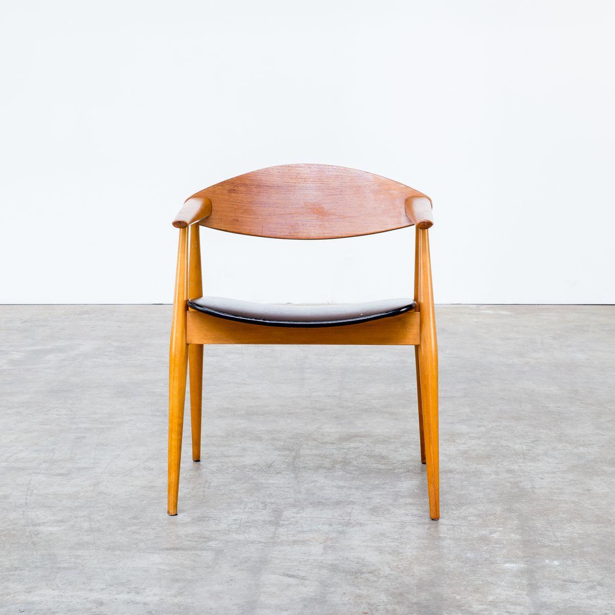 Skandinavischer stuhl aus teak schichtholz 1970er bei - Skandinavischer stuhl ...