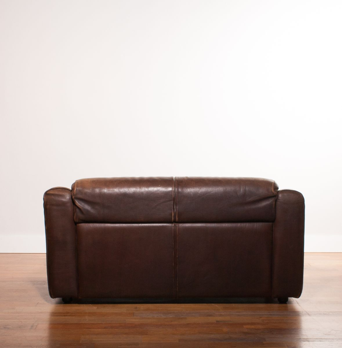 Buffalo Leather 2 Seater Sofa 1970s For Sale At Pamono