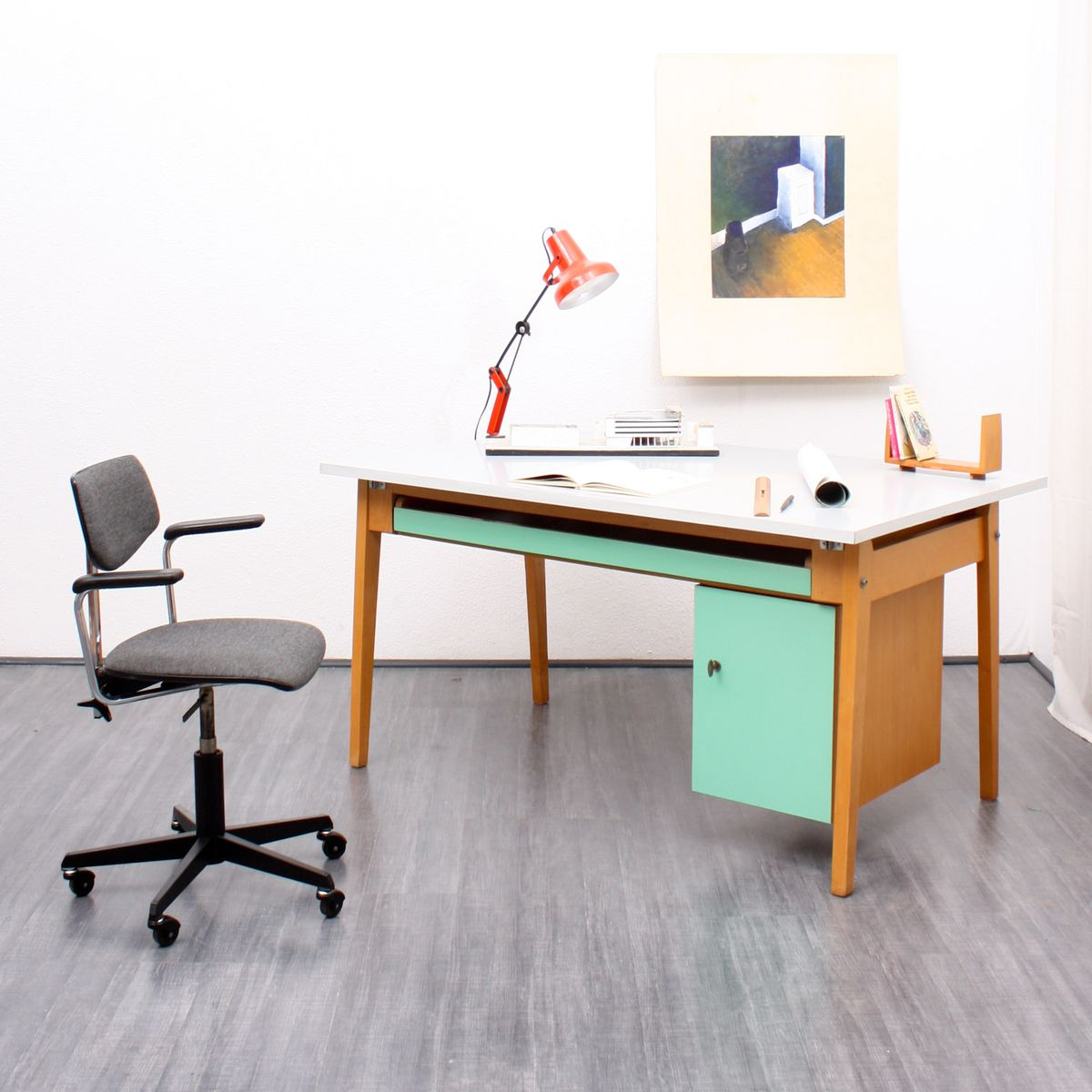 large architect 39 s desk 1950s for sale at pamono