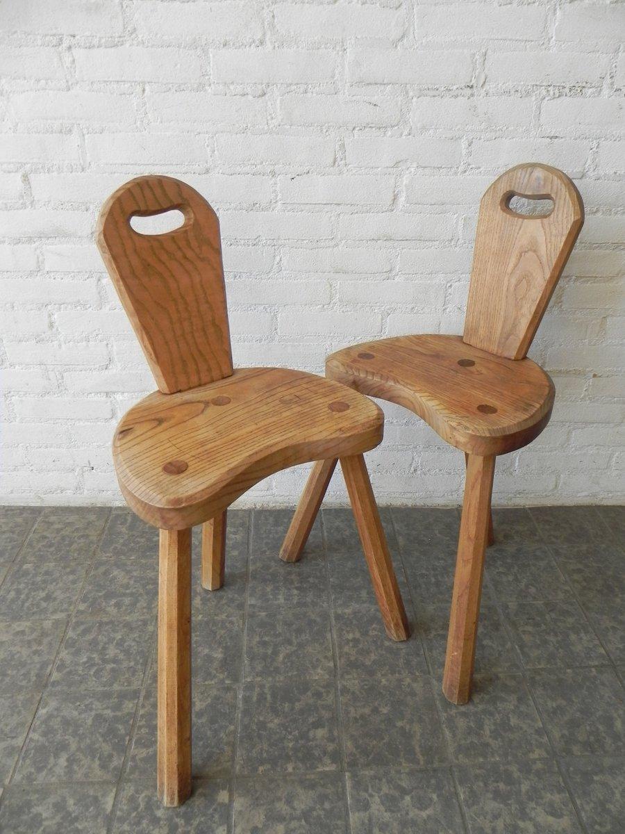 franz sische eichenholz st hle 2er set bei pamono kaufen. Black Bedroom Furniture Sets. Home Design Ideas