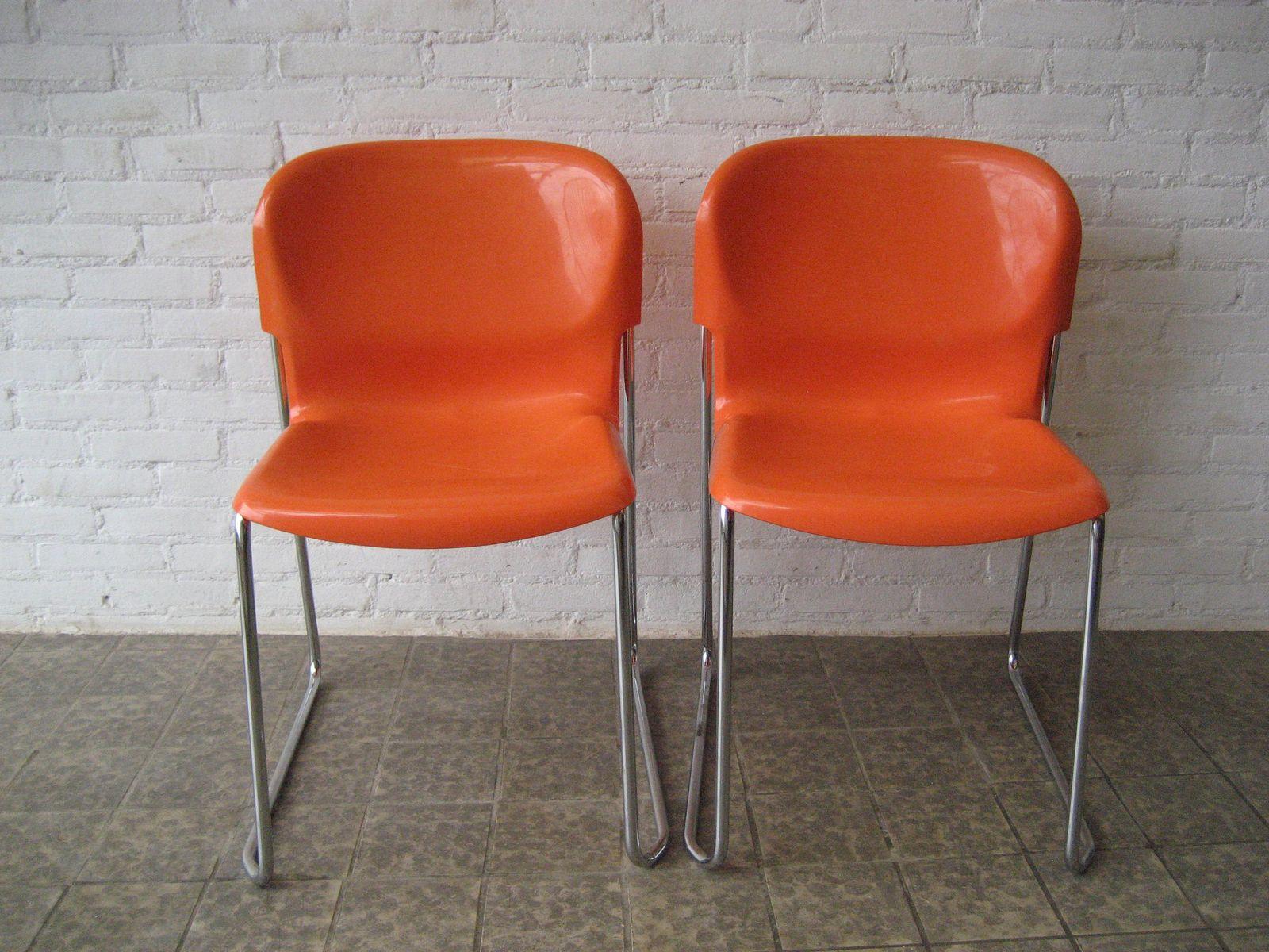 swing st hle von gerd lange f r drabert 2er set bei pamono kaufen. Black Bedroom Furniture Sets. Home Design Ideas