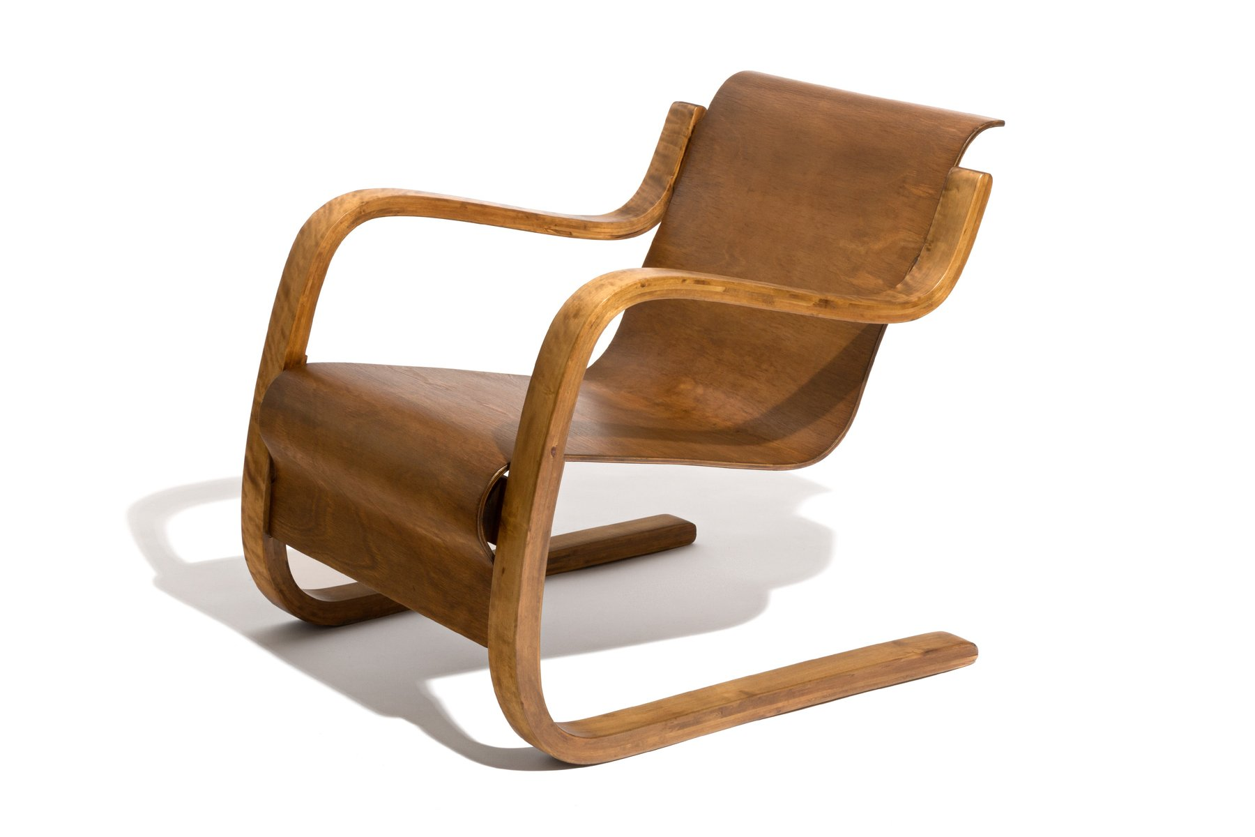 Cantilever model 31 42 chair by alvar aalto for o y for Alvar aalto chaise