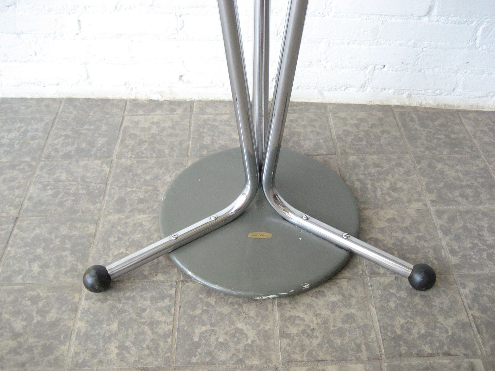vintage chrome coat rack for sale at pamono - vintage chrome coat rack