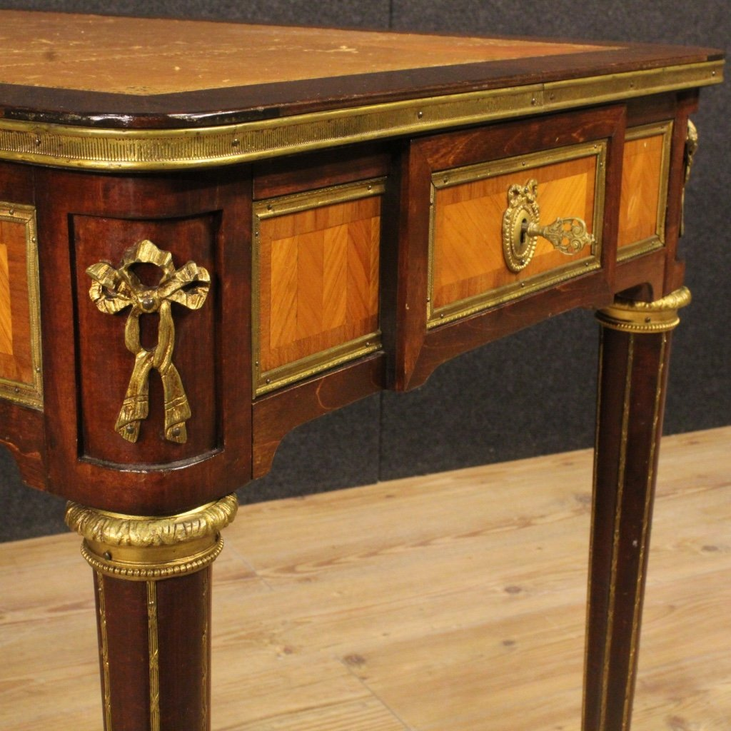 previous - French Writing Desk In Mahogany And Rosewood, 1920s For Sale At Pamono