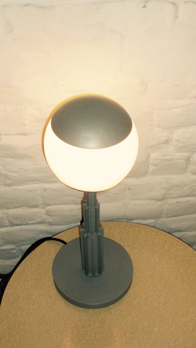 lampe de bureau vintage prometeo par aldo rossi pour. Black Bedroom Furniture Sets. Home Design Ideas