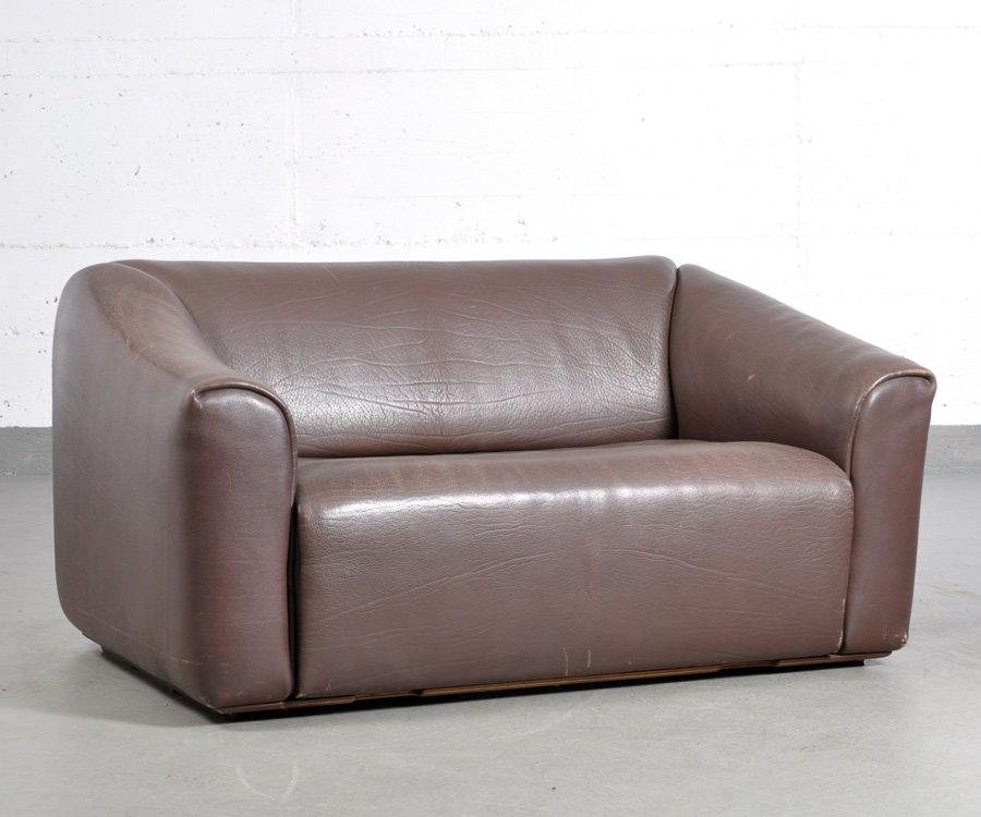 vintage zwei sitzer ds47 sofa von de sede bei pamono kaufen. Black Bedroom Furniture Sets. Home Design Ideas