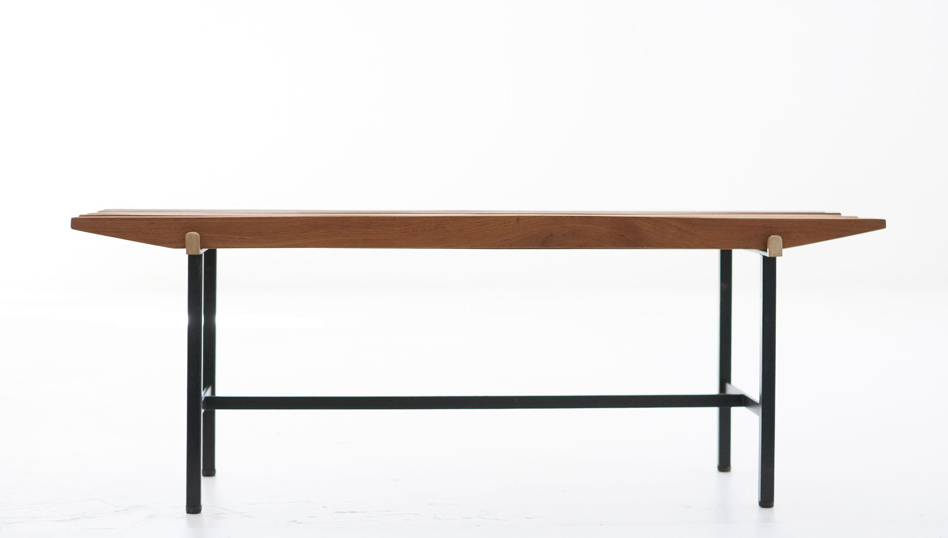 Mid Century Modern Teak Bench 1950s For Sale At Pamono