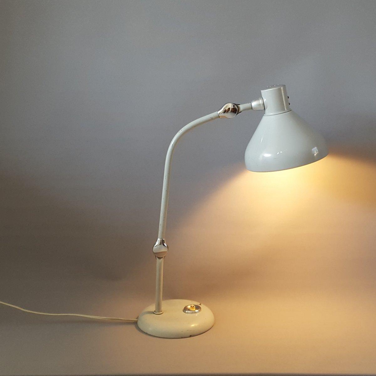 lampe de bureau vintage mod le gs1 de jumo en vente sur pamono. Black Bedroom Furniture Sets. Home Design Ideas